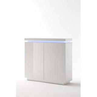 Skap Ocean - Høyglans - Fjernstyrt RGB LED