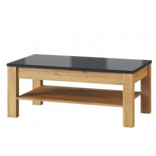 Sofabord Kama 110x46 cm - Eikelook - Svart
