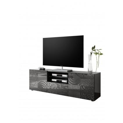 TV-benk Miro 181x57 cm Antrasitt Grå