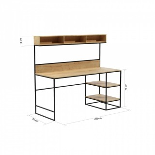 Skrivebord Sanders 160 cm Trefiner