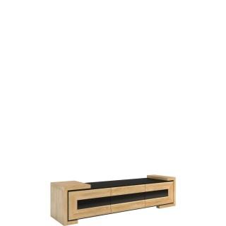 TV benk Corino 192 cm Lakkert Eik