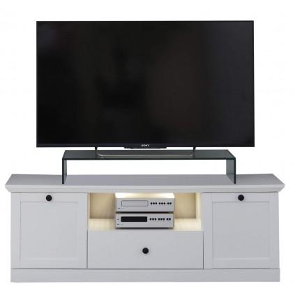 TV benk Bendson 139 cm - Hvit Matt