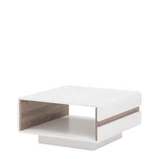 Sofabord Nateo 90x38 cm - Høyglans Hvit