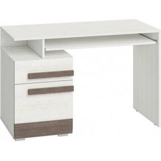 Skrivebord Blanco 120 cm - Hvit Trelook