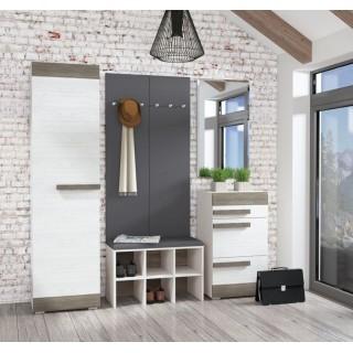 Garderobe Blanco 55 x 202 cm - Hvit Trelook