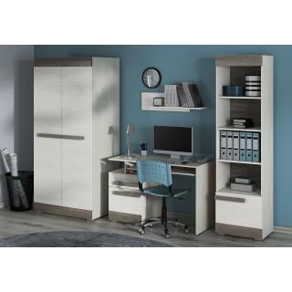 Garderobe Blanco 92 x 202 cm - Hvit Trelook