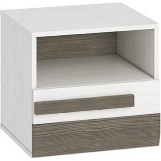 Nattbord Blanco 46 cm - Hvit Trelook