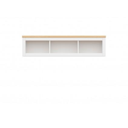 Skap Hagan 151 cm - Hvit Matt - Trelook - Vegghengt