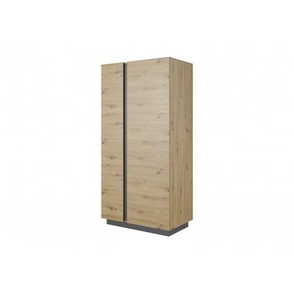 Garderobe Trento 96 cm - Grafitt - Trelook