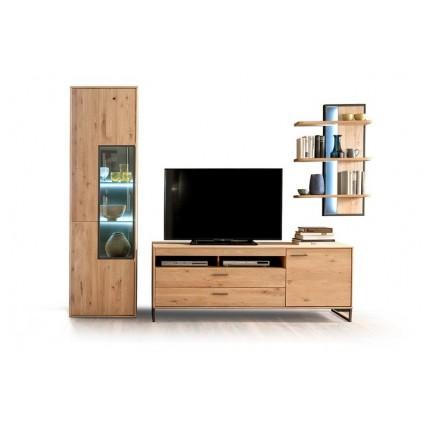 TV-benk Gotland 184 cm - Eikefiner - Høy