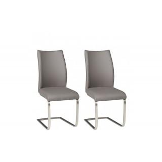 Stoler Guria - 2 stk - Grå stoler