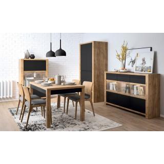 Sofabord Bevano 140-180 cm - Trelook - Svart