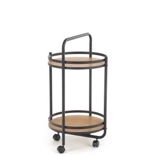 Bario tilleggsbord 44 cm - med hjul