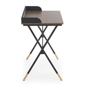 Konsollbord Dandey 90x76 cm - Eikelook - Svart