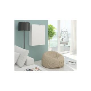 Skrivebord Bellis 60x93 cm - Hvit - Vegghengt