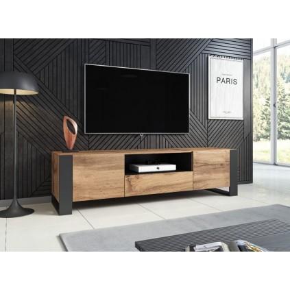 TV-benk Dewoo 180x48 cm - Eikelook