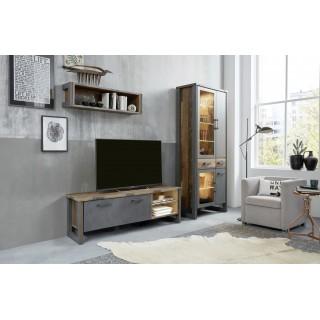 Tv-benk Perro 178 x 52 cm - Trelook - Gammel look