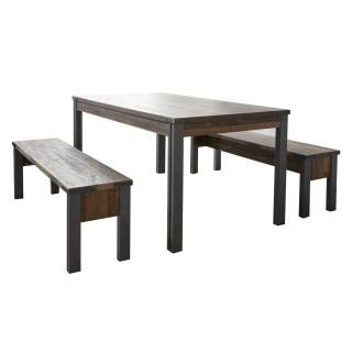 Spisebord Perro 160 cm - Trelook - Gammel look