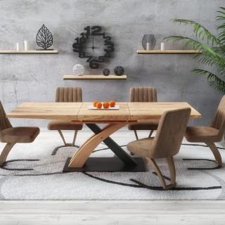 Spisebord Sandor 160-220