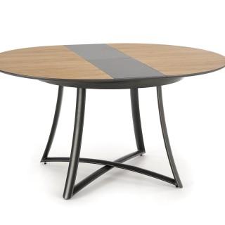 Spisebord Toretti 118-148 cm - Eik - Antrasitt