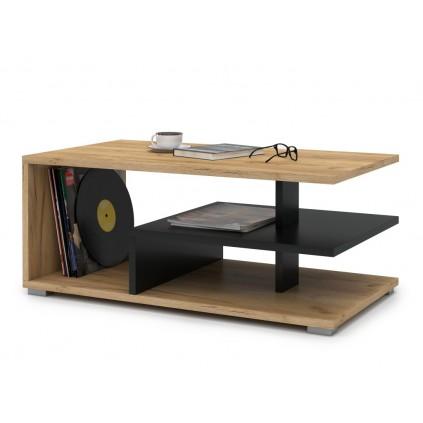 Sofabord Inkos 90x40 cm - Trelook - Svart