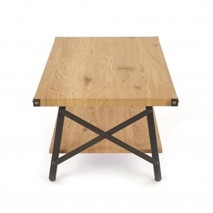 Sofabord Carin 110x42 cm - Trelook - Svart