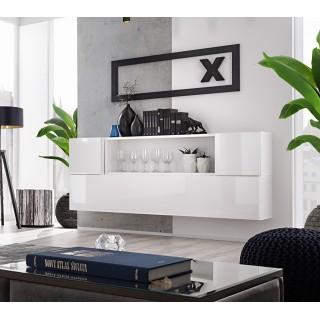 Mer omSkjenk Blox 175 cm - Vegghengt Highboard