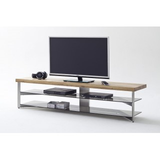 TV-Benk Fabia 180 cm - TV-hylle - Glass - Eik