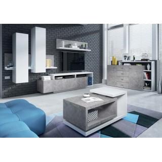 Sofabord Scaleo 120x47 - Betonggrå