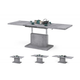 Høyt sofabord Alvan 120 cm - Betonggrå