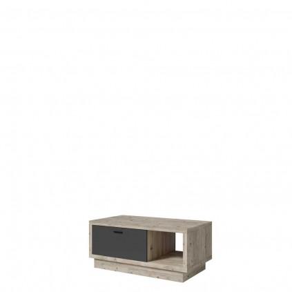 Stuebord Manta 110x60 cm - Antrasitt - Pine