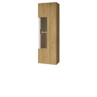 Vitrine Verduna 40x135 cm - Naturlook - Vegghengt
