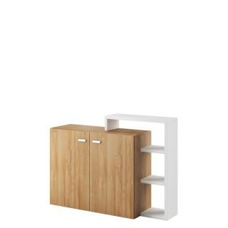 Skjenk Scaleo 130 cm - Hvit - Trelook
