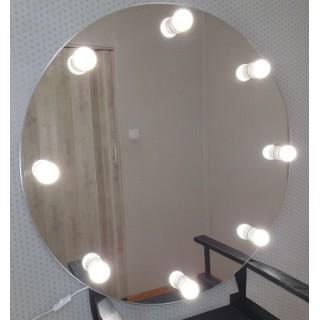 Mer omSminkespeil Hollywood 80 cm - Vegghengt - Make up speil