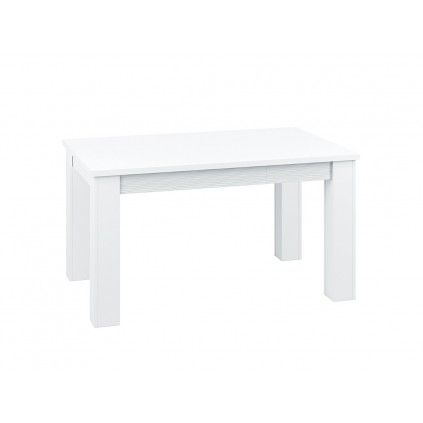 Spisebord Beco 101/141/181cm - Hvit