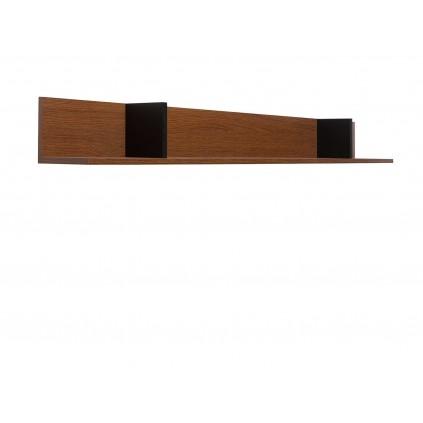 Vegghylle Disona 162 cm - Brun - Svart