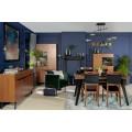 Spisebord Disona 150-200 cm - Brun - Svart