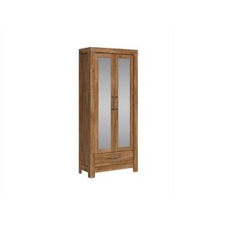 Garderobe Ryon 88x200 cm - med speil - 2 dører