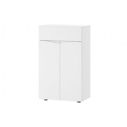 Entreskap Lucan 62x102 cm - Hvit