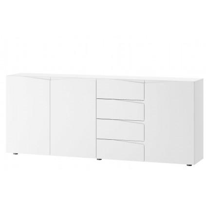 Skjenk Lucan 200 x 83 cm - Hvit