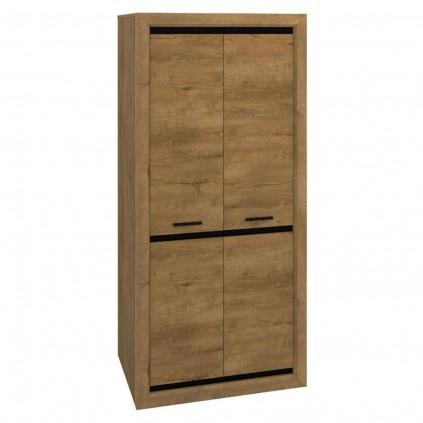 Garderobe Altico 92x200 cm - Trelook - Natur