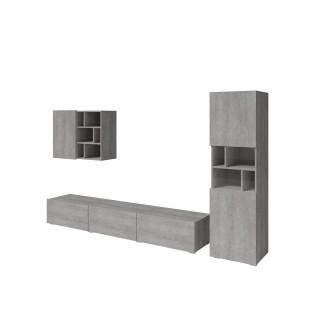 Mer omTv-seksjon Steinwood - Grå betong