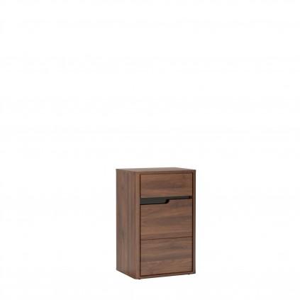 Skap Edan 50x85 cm - Nøtt - Mørk brun