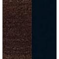 Vitrineskap Monea 95x198 cm - Mørk eik