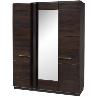 Garderobe Monea 165x210 cm - med speil