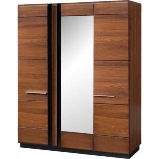Garderobe Antico 165x210 cm - EIk - med speil
