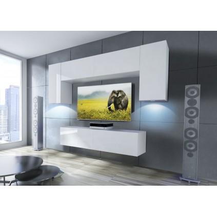 Tv-møbel Concept 240x195 cm - Hvit