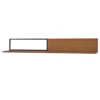 Vegghylle Pratto 180 cm - Eik