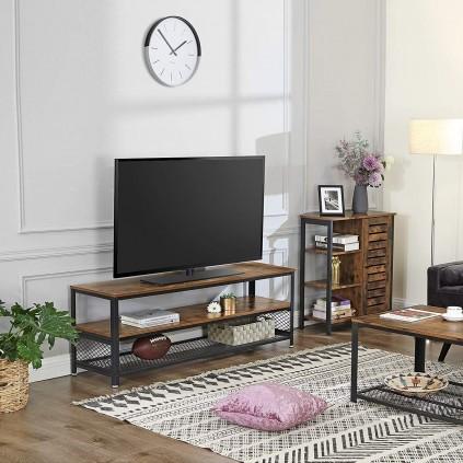 TV-benk Maura 140x52 cm - Industriell stil