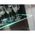 Tv-møbelsett Solido 310x190 cm - Eiklook - Svart